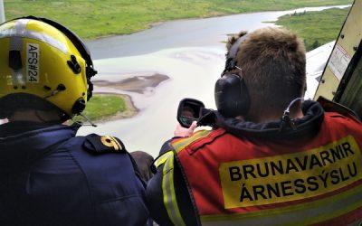 Brunavarnir Árnessýslu og Landhelgisgæslan 29. júní 2019